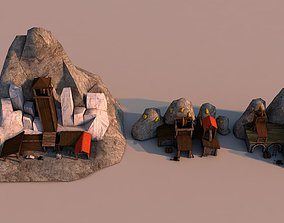 Mines Rome 3D model