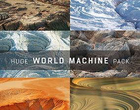 3D model Huge World Machine Pack poly