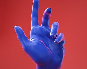 Male Hand 27 3D