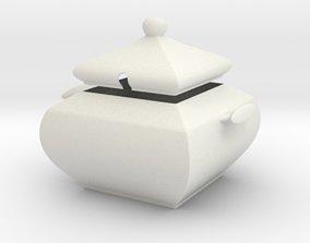 Sugar bowl sugar 3D print model