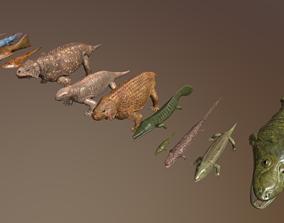 extinct animals 3D model