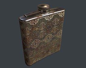 3D asset OldFlask