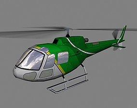 3D model As-350 V3 Helicopter
