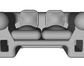 3D printable model Sofa 2 Seater