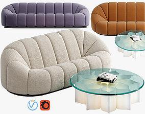 Sofa RALPH PUCCI Canape Alpha 3D model