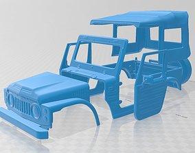 Suzuki Jimny 1977 Printable Body Car