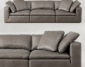 CLOUD MODULAR LEATHER SOFA 3D