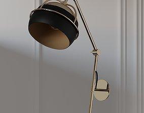 Black Widow II Wall Lamp Sconce 3D