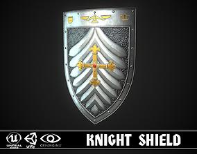Knight Shield 09 3D asset