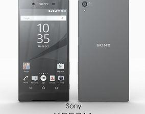 Sony Xperia Z5 Premium Graphite Black 3D