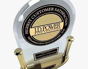JD Power Award 3D