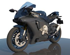 3D Yamaha YZF R1