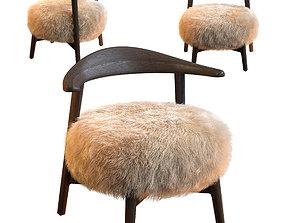 3D fur Matador Shearling Chair