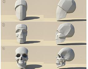 3D printable model SketchAnatomy Studying the human 1