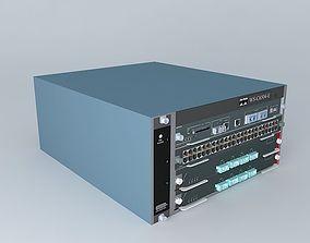 3D Cisco Catalyst 6504E Switch