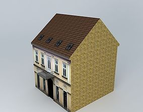18th Century House European Style 3D model