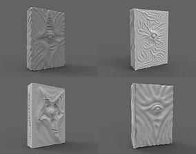 Necronomicon 3D model evileye