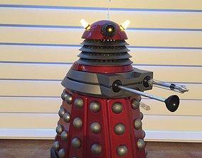 Doctor Who New Paradigm Dalek 3D print scale model