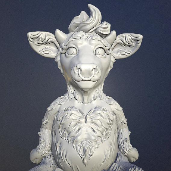 Funny Bull or Behappy
