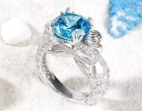 Ring Jewelry rings fashion-ring 3D print model