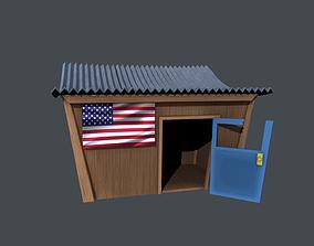 3D model VR / AR ready Store House