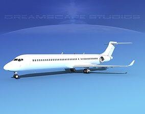 3D model Comac ARJ21-900 Unmarked 2