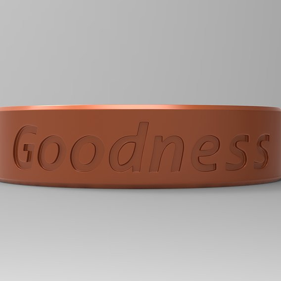 Goodness Finger Ring Blazing Copper