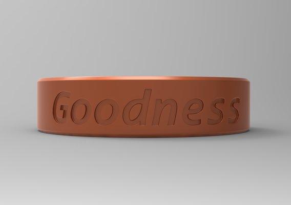Goodness Finger Ring Blazing Copper