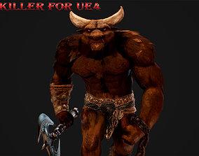 Bull Killer 3D model