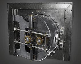 3D model Metal Bank Vault BHE - PBR Game Ready