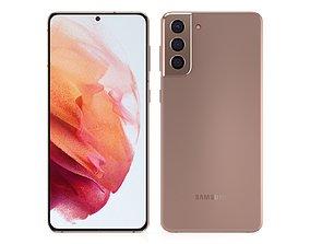3D Samsung Galaxy S21 Plus Phantom Gold