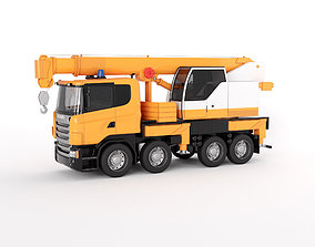 Scania Liebherr Crane Truck 3D model