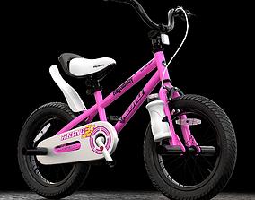 Royal Baby Kids BMX Bike 3D model