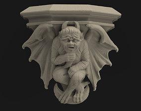 Medieval devil console 3D print model