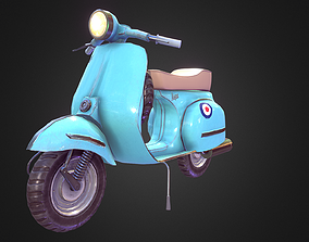 3D model Vespa Vehicle