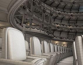 3D model Luxury Theater Hall