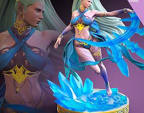 woman Shiva FF7 Remake Fan art 3D printing ready