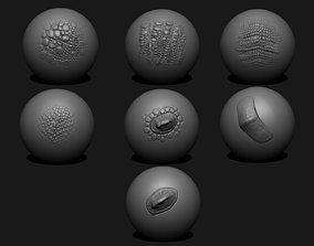 skin 3D asset game-ready Dragon