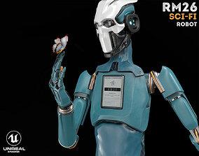 ROBOT RM26 3D model