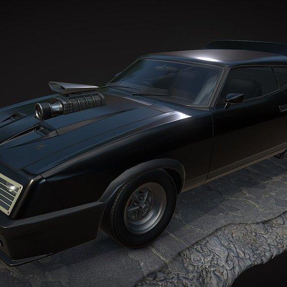 Ford Falcon XB GT ( Mad Max)