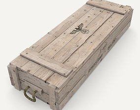 3D model German army crate