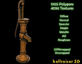 Water Pump - Textured 3D asset