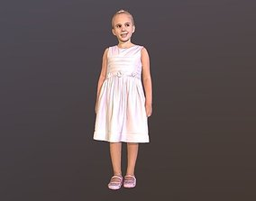 3D No88 - Cute Little Girl