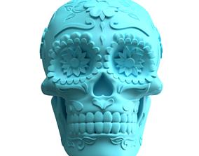 Mexican Sugar Skull 3D printable model