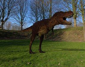 trex Dinosaur 3D model game-ready