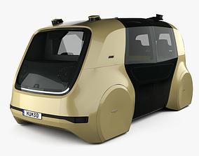 3D Volkswagen Sedric with HQ interior 2017
