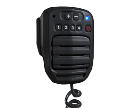 3D TWO RADIO MICROPHONE