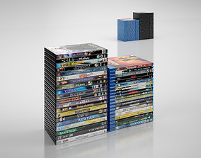 3D model DVD and BlueRay cases