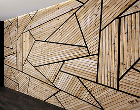 3D Wall Panel Set 5