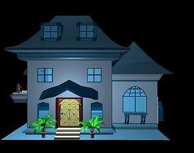 House house windows 3D model